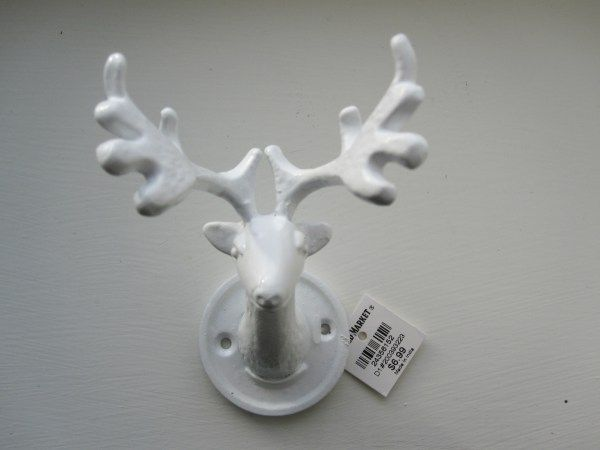 Mounted Deer Hook Front