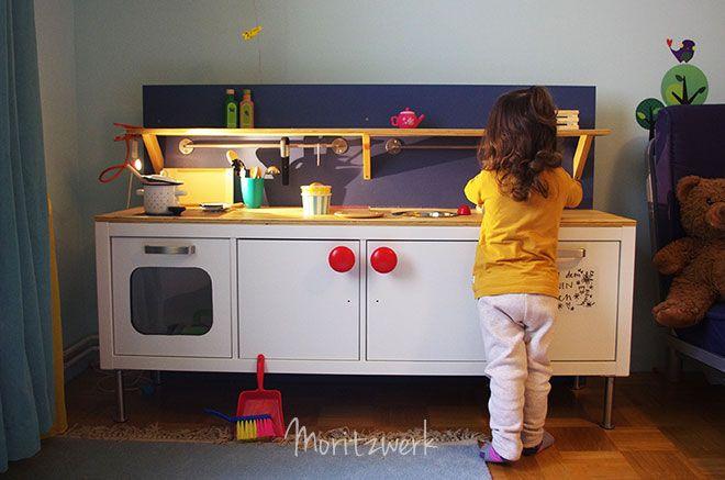 kinderküche aus kallax - play kitchen made of kallax - ikea hack ... - Kinder Küche Selber Bauen
