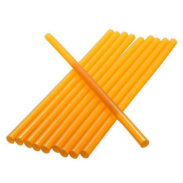 10Pcs 27cm Yellow Glue Sticks Strong Glutinosity for Glue