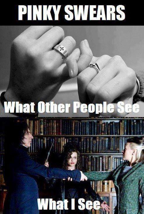 The Unbreakable Vow Harry Potter Funny Harry Potter Jokes Harry Potter Memes