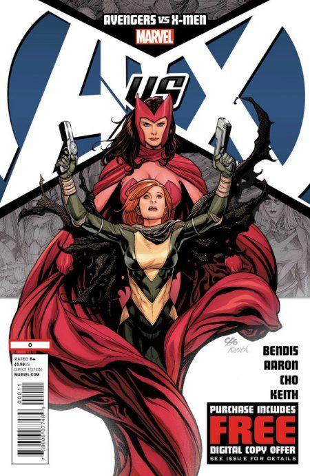 Avengers Vs X Men 0 Cover X Men Comics Avengers