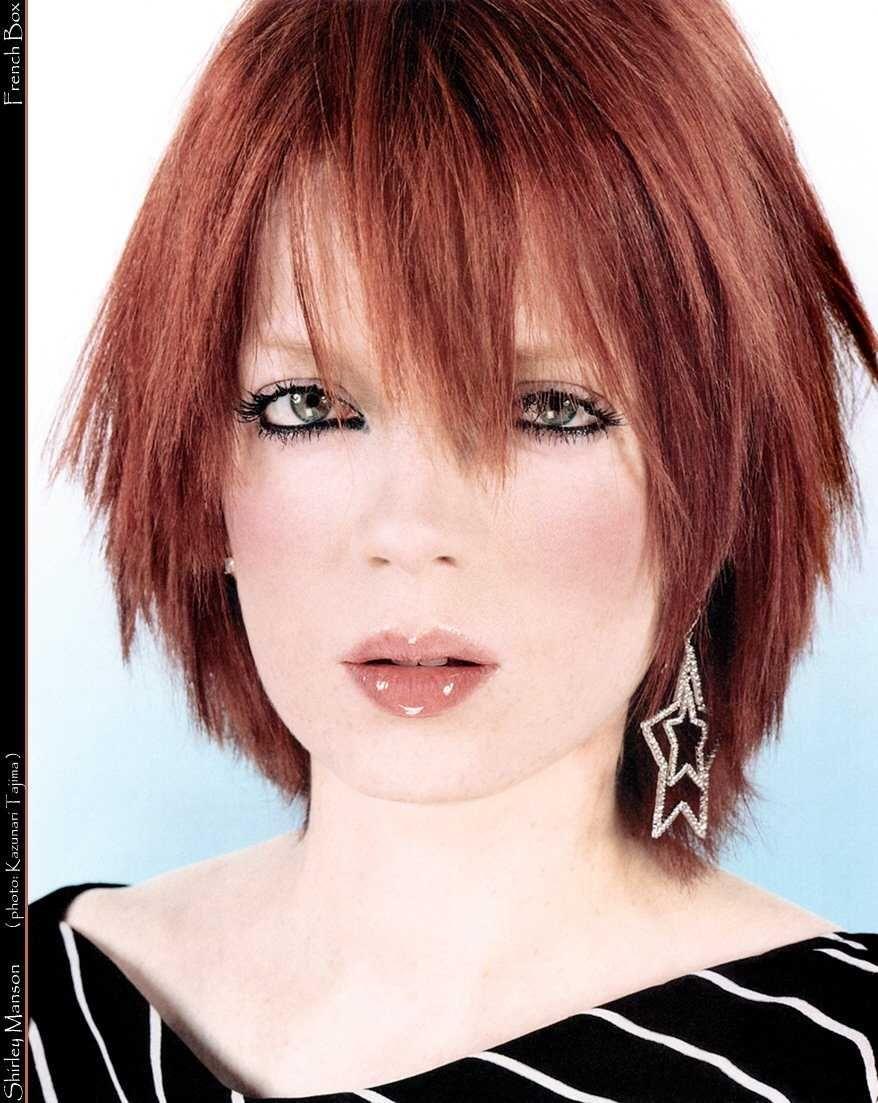 Shirley Manson Shirley Manson Stupid Girl Womens Hairstyles