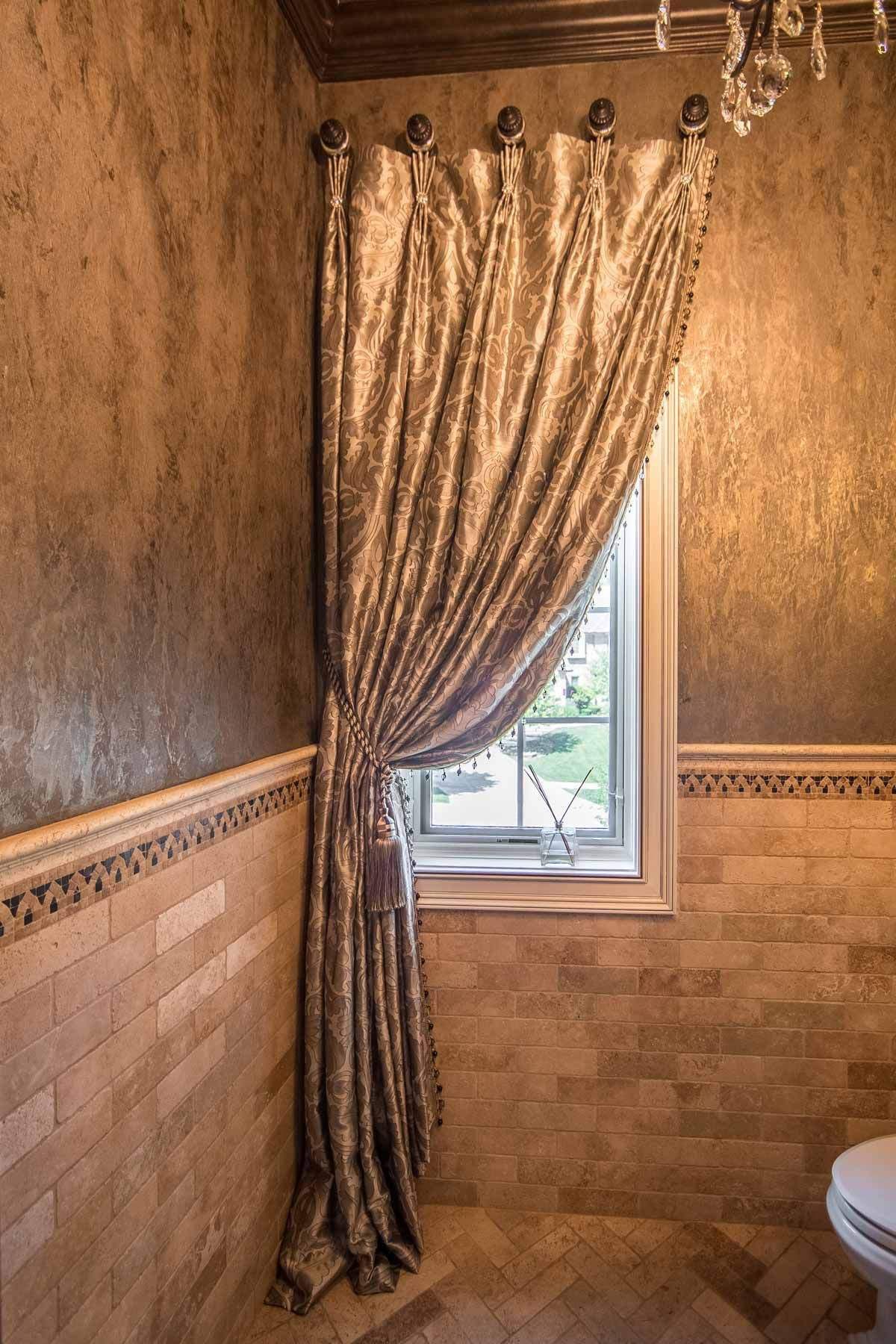 Window dressing ideas for arched windows  window treatment ideas in   windows treatments  pinterest