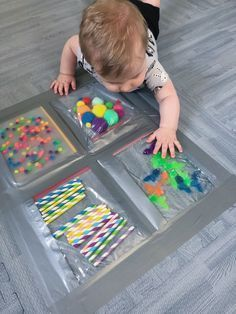 Sensory Bag Kits | Baby Babies Toddlers Preschool