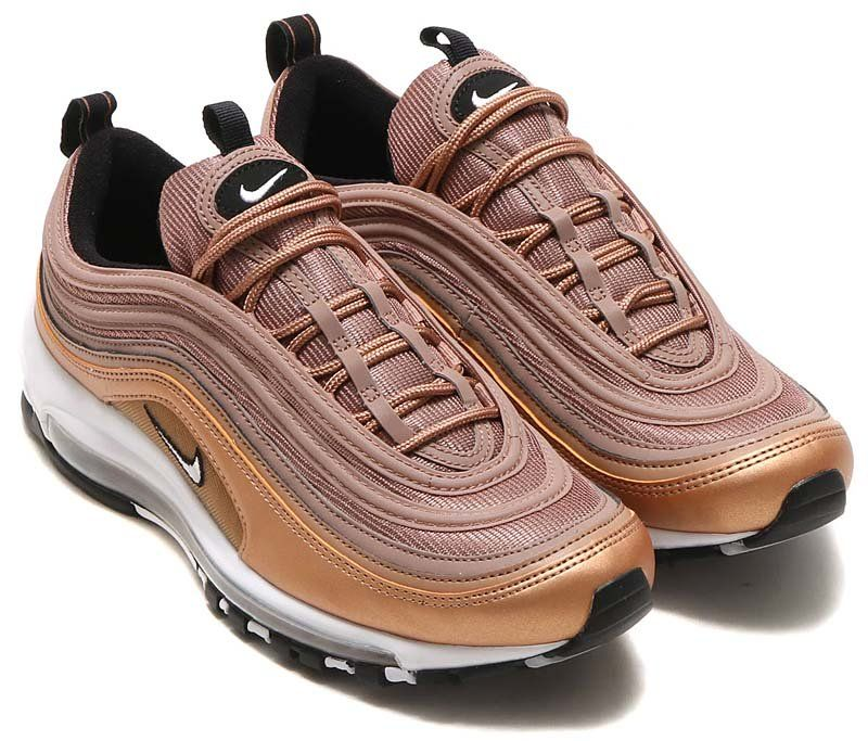 NIKE AIR MAX 97  DESERT DUST   WHITE-MTLC RED BRONZE-BLACK  921826 ... 13a5397e1