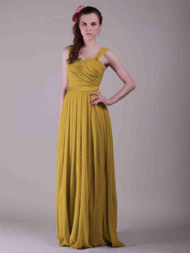 Mustard yellow bridesmaid dress yellow bridesmaid dresses
