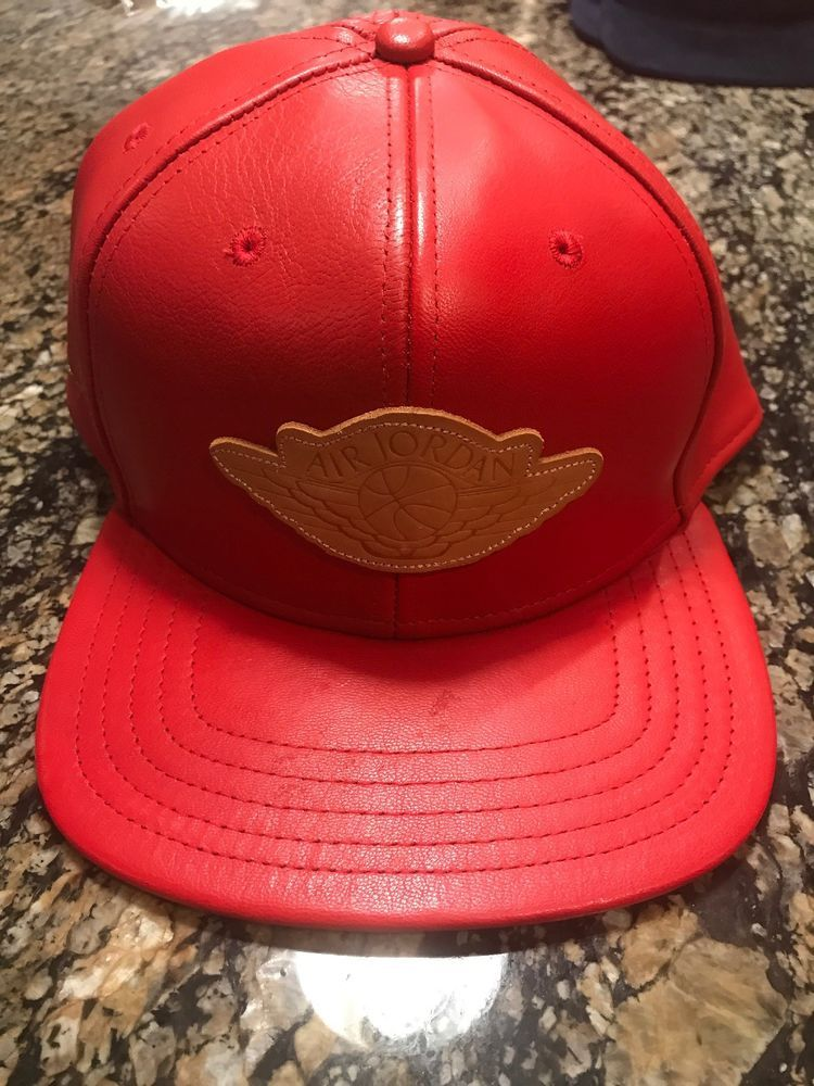 50f99c64833 ... france nike air jordan 2 x just don beach leather hat red hat only  justdon baseballcap