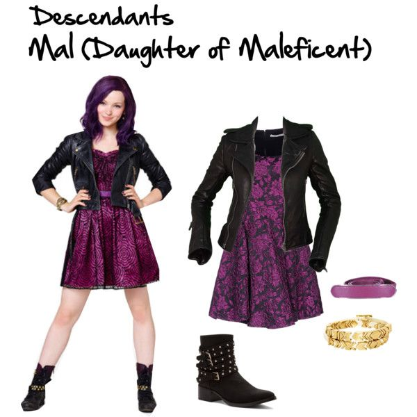 High Quality Descendants: Mal #2   Polyvore