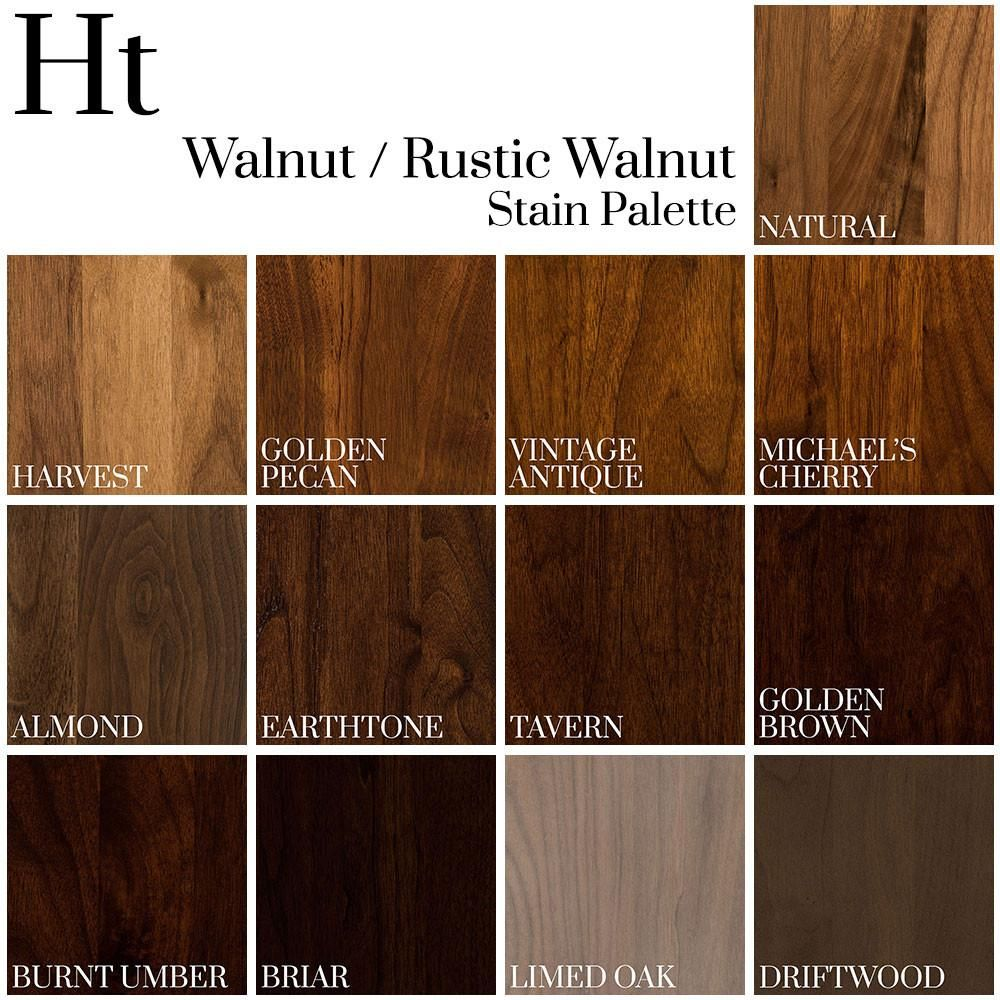 Dark Stains On Walnut 4 Walnut And Rustic Walnut Color Palette Home And Timber Dark Wood Stain Wood Floor Colors Staining Wood