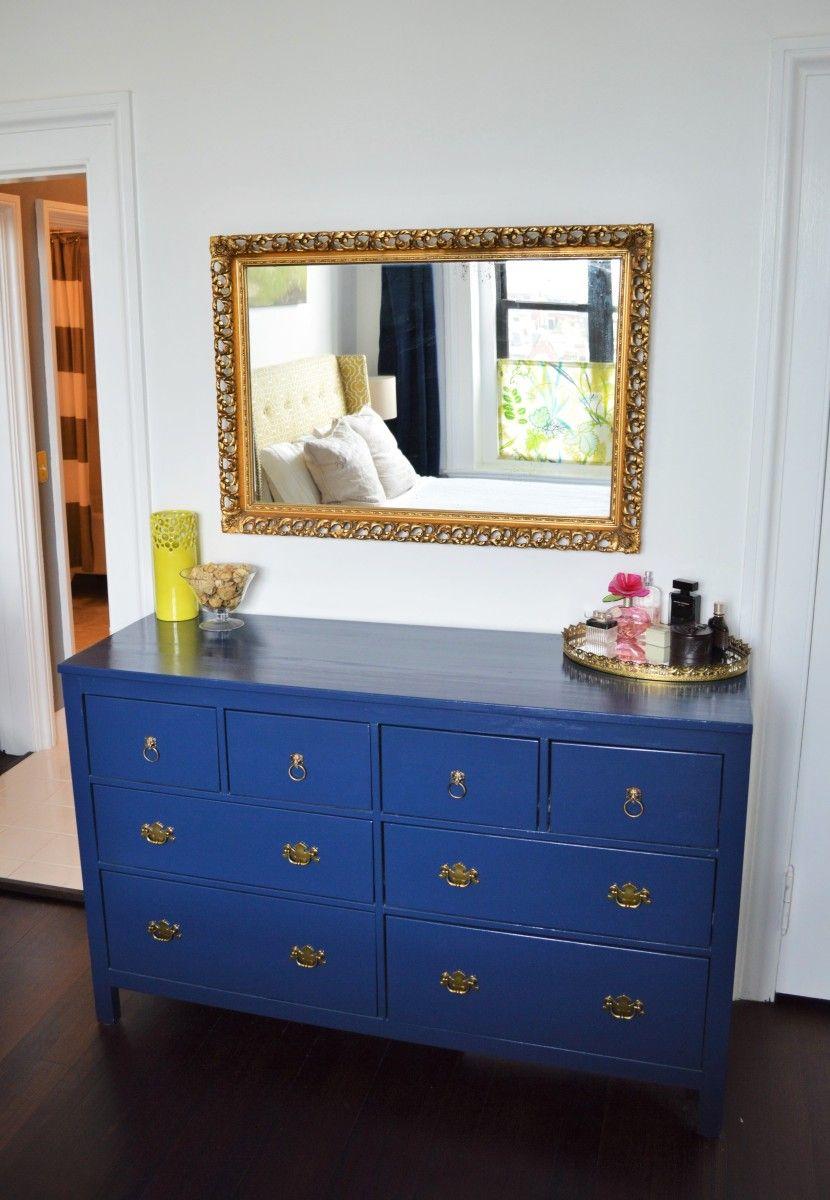 Pea Blue Hemnes Dresser Ikea Hackers