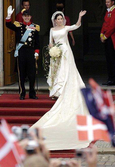 Las 10 bodas reales más memorables de la historia   Mary & Frederik Wedding - Prince frederik of ...