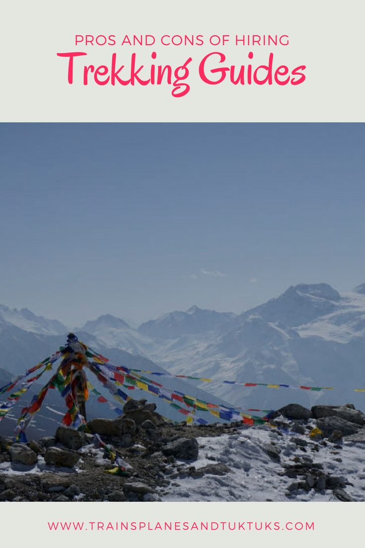 Trekking Guides In Nepal: Pros And Cons