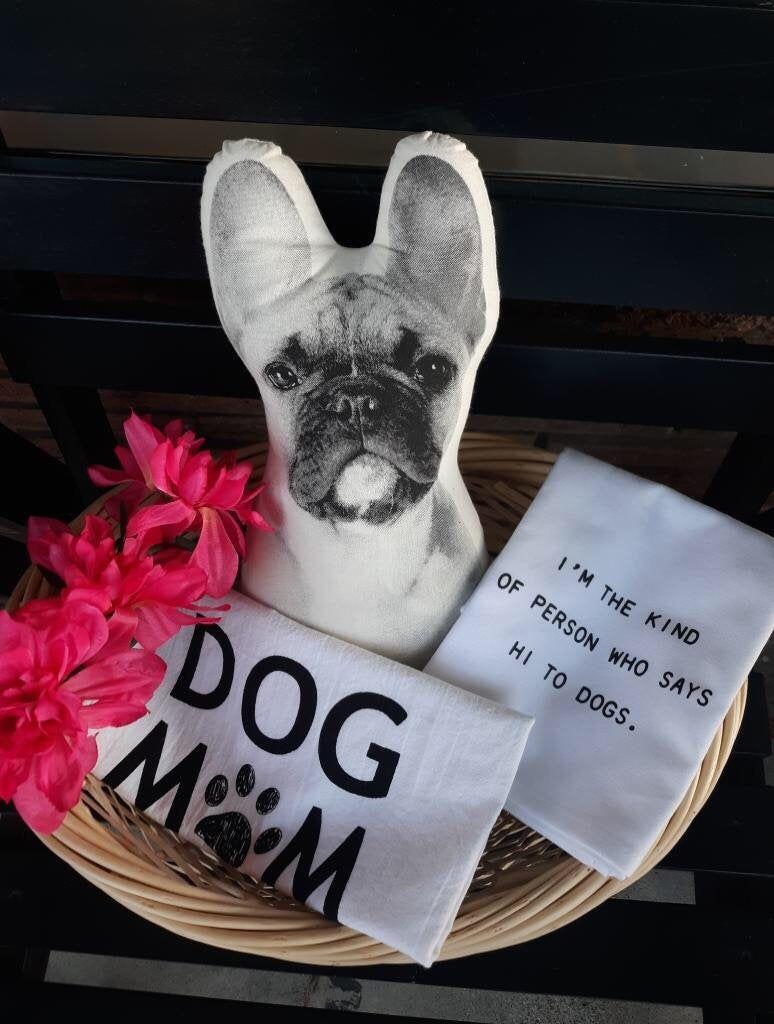 Dog mom gift basket bundle french bulldog birthday present