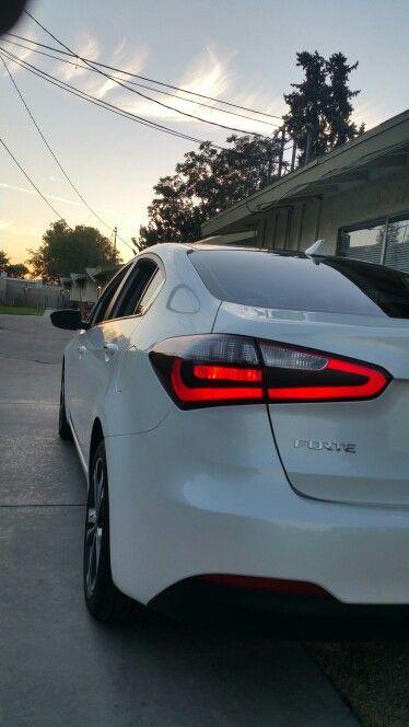 Kia Forte Ex Led Tail Lights Mod Kia Forte Kia Bmw Car