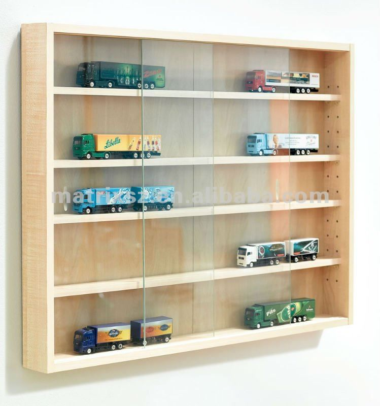 Toy Car Display Case