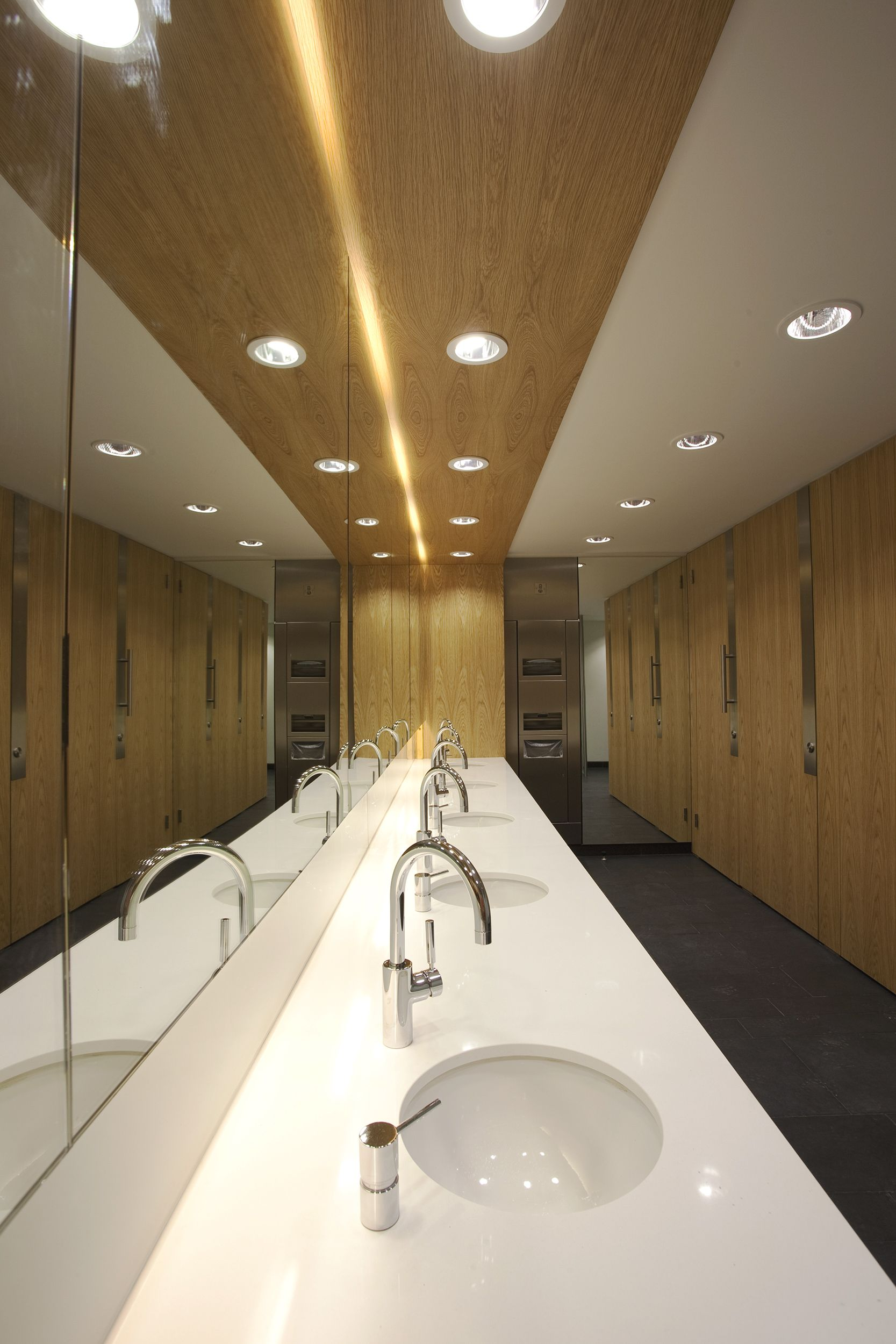 office restroom design. Washroom Projects | Cambridge Head Office Interfix Restroom Design
