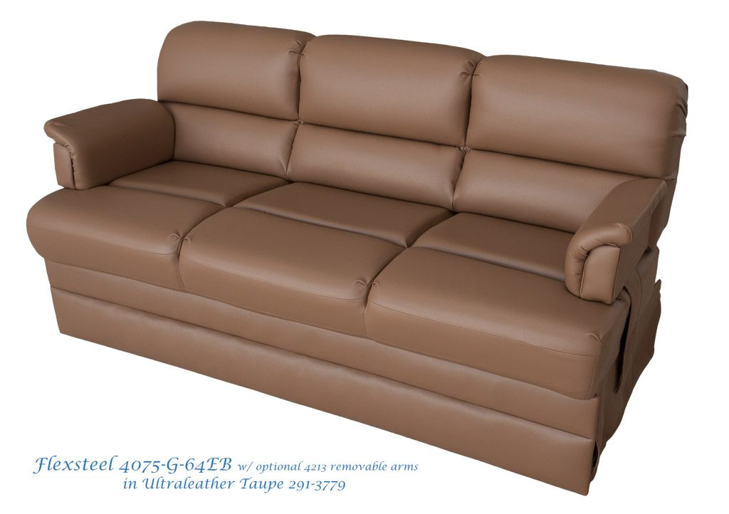 Pleasing Flexsteel Donner Rv Sofa Model 4075G 64Eb Armless Easy Bed Alphanode Cool Chair Designs And Ideas Alphanodeonline