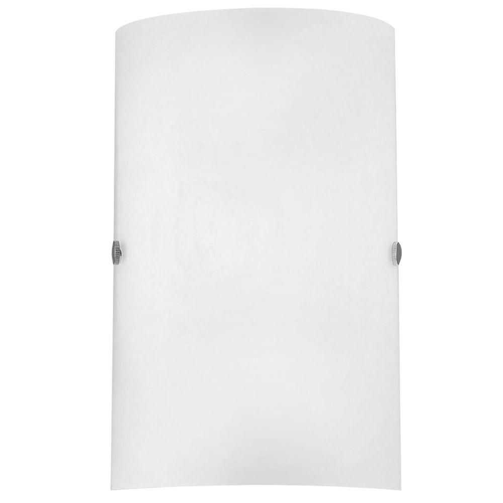 EGLO Troy 3-1-Light Matte Nickel Sconce | Troy, Wall sconces and Walls