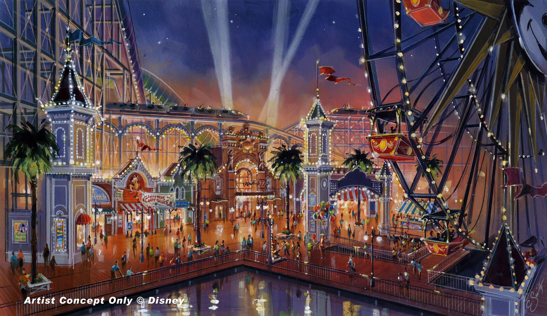 Disney California Adventure Concept Art