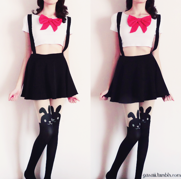 #Kawaii #Harijuku #Japan #CuteFashion #JapaneseFashion #BunnyTighs #SailorMoon #Fashion #Nitrofashion