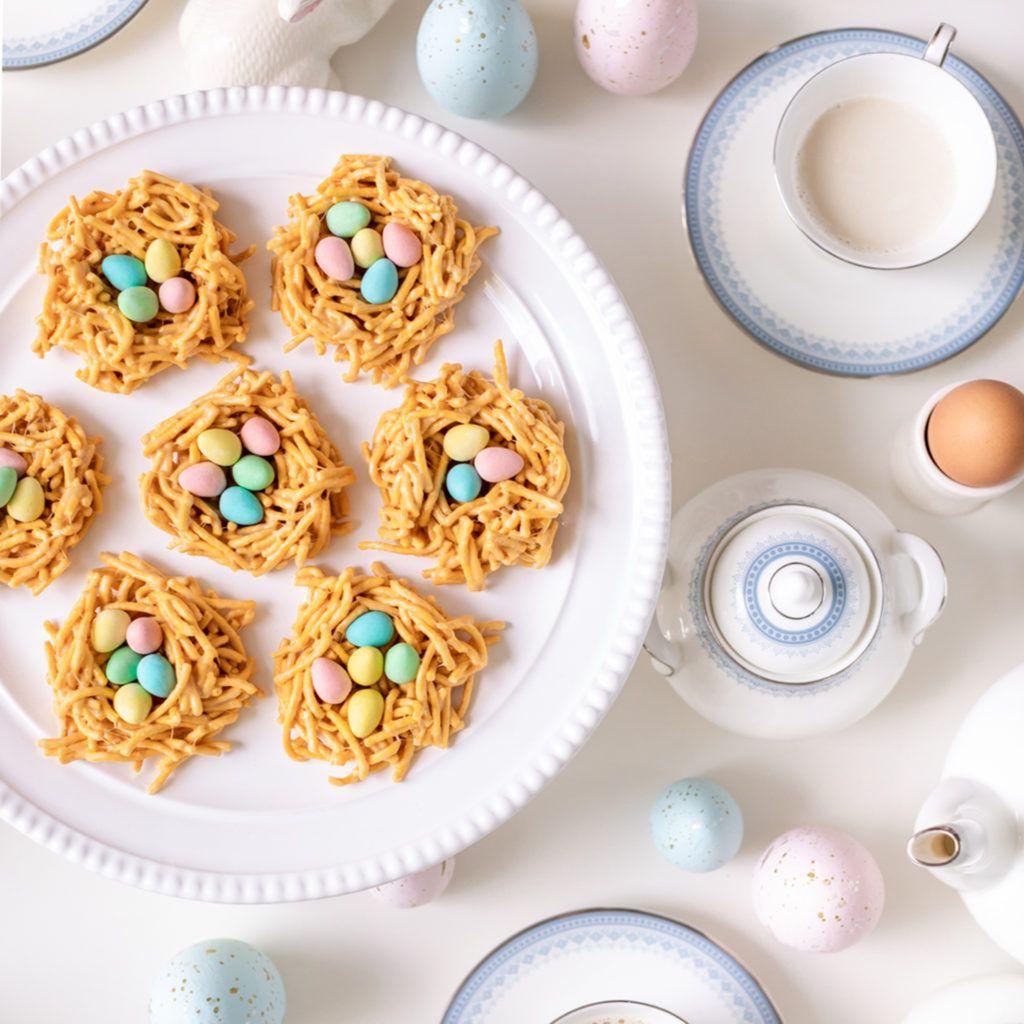 DIY Easter Nests - Jillian Harris