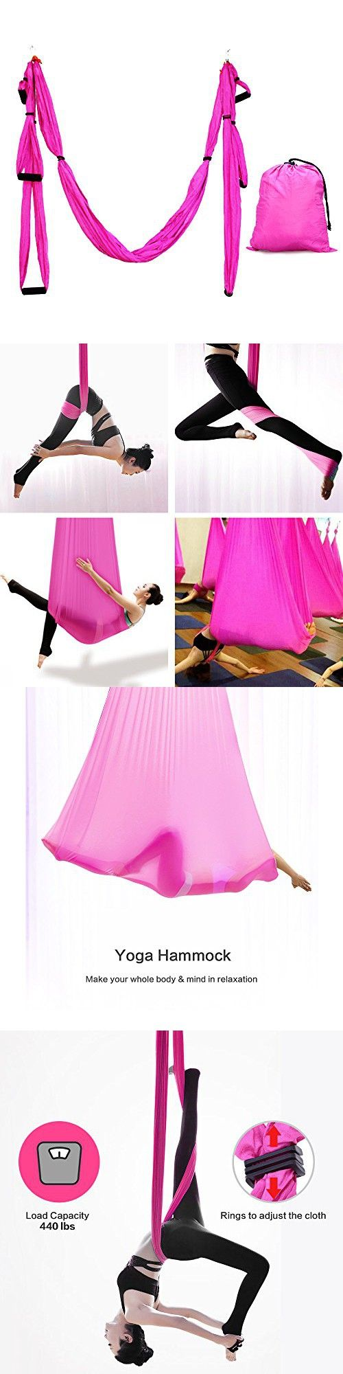 Aerial yoga swing xcat ultra strong antigravity yoga hammock with