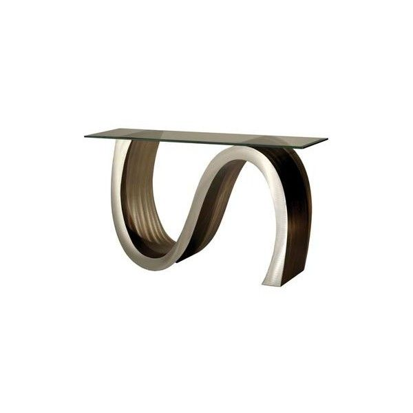 Nova Lighting Meandering Console Table 978 Liked On Polyvore Featuring Home Furniture