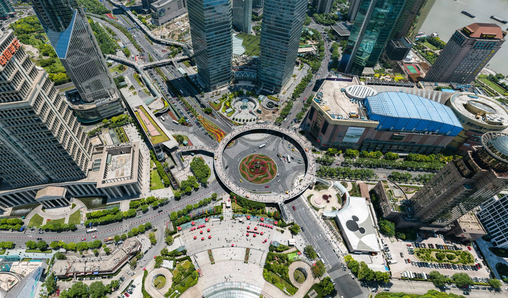 195 Gigapixel Photo Of Shanghai By Bigpixel Allows Viewers To See Street Level Detail Photo Shanghai High Resolution Photos