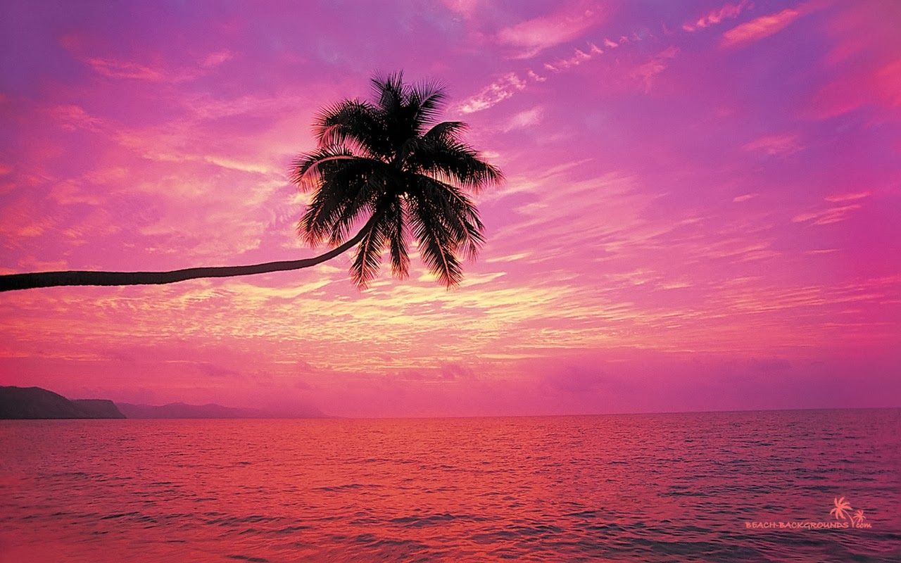 Tropical Beach Wallpaper Beach Wallpaper Beach Sunset Images