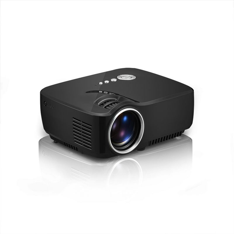 Model gp70 mini portable led projector overview 1 single for Micro mini projector