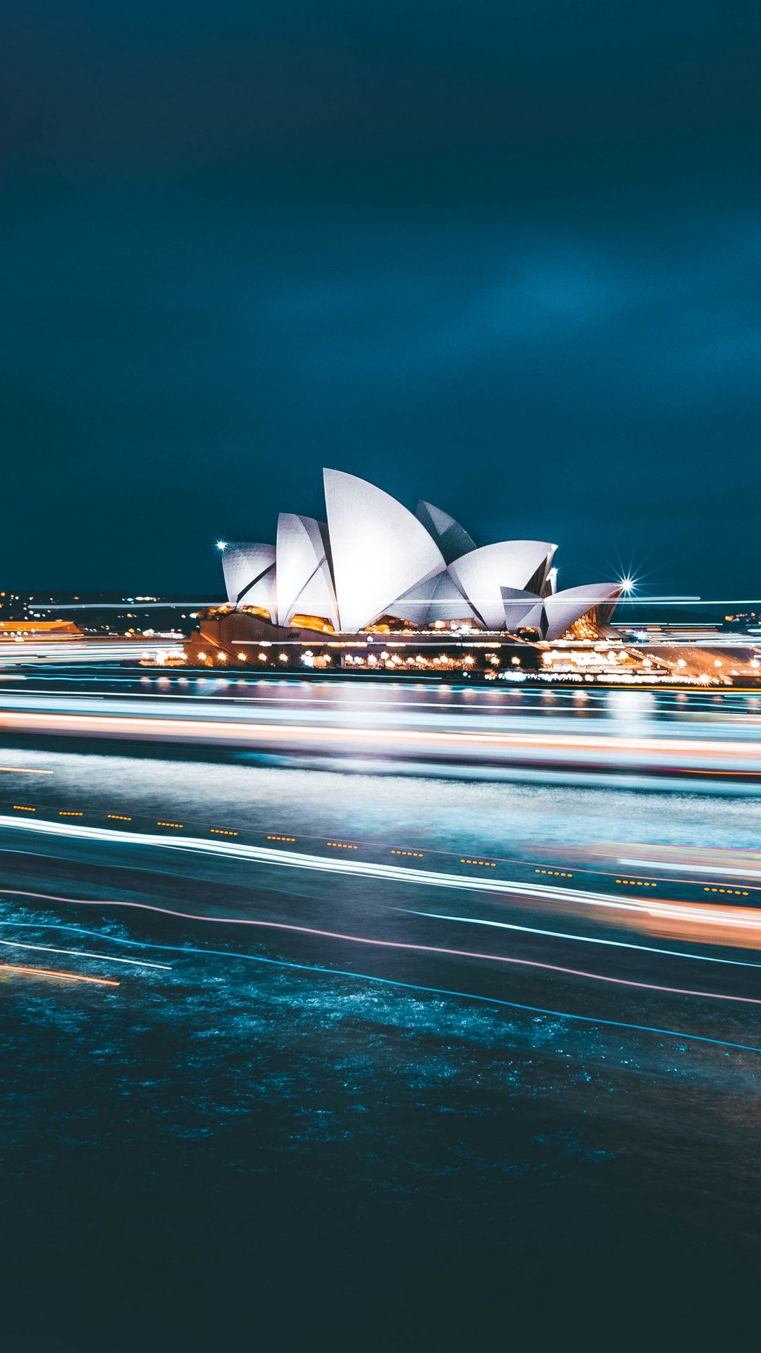 1080x1920 Wallpaper building, city, road, quay, sydney, australia