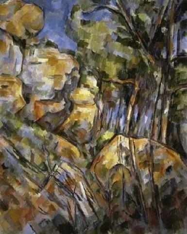 Le Paysage Des Dernieres Annes Giclee Print Poster by Paul Cezanne