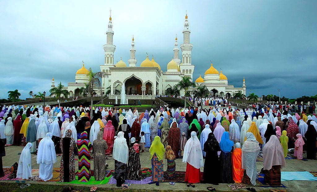 صلاة العيد في الهند Eid prayers in india Cotabato city
