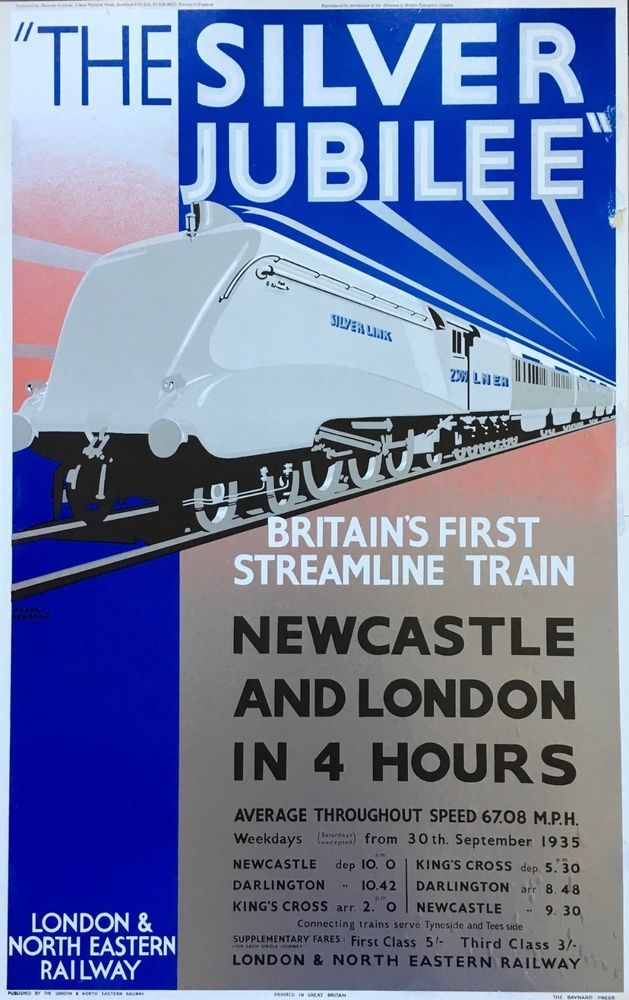 Poster for The Silver Jubilee by Frank Newbold