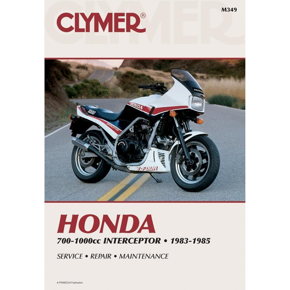 Clymer Honda Vf700f Vf750f Vf1000f Interceptor 1983 1985 1992 Gl1500 Wiring Diagram Repair Manual By