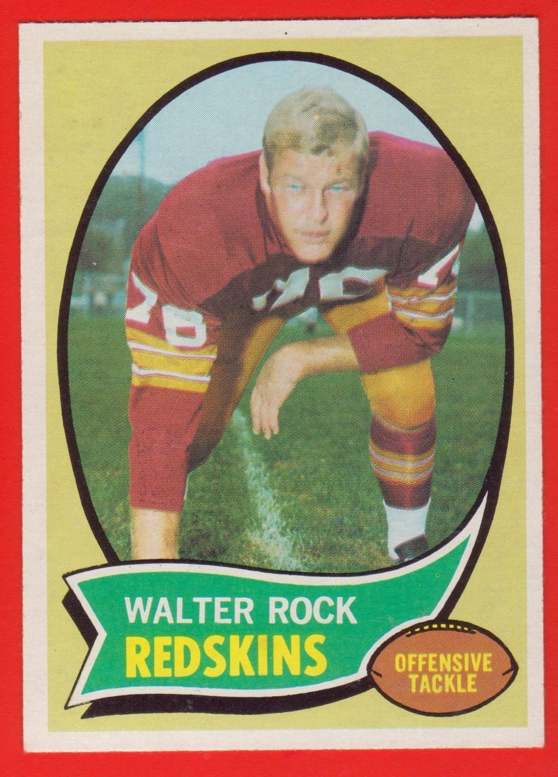 1970 topps with images redskins football cards