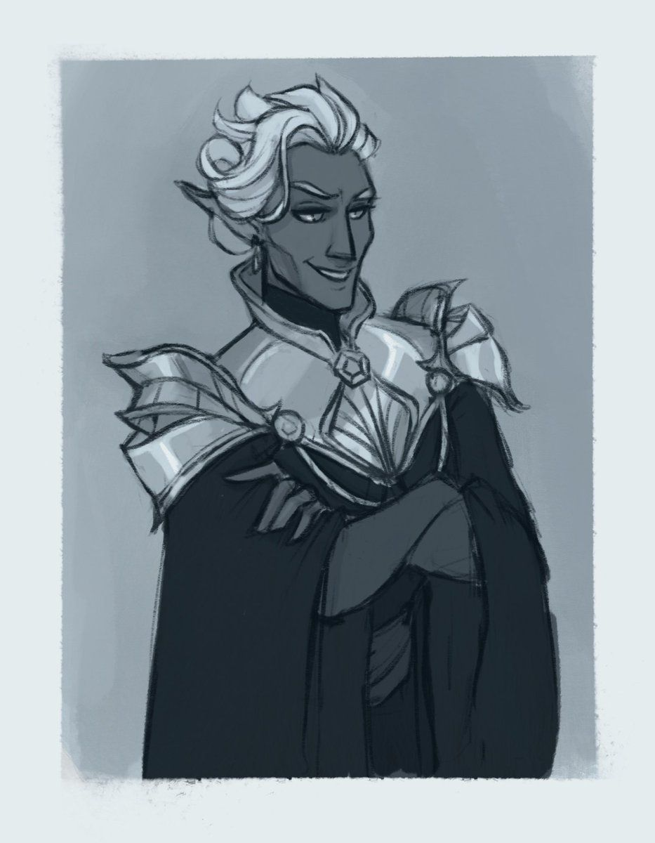 I Love One Magic Drow Boy Essek Sketch For Tonight S Cool Down Criticalrole Criti Critical Role Fan Art Character Inspiration Character Design Inspiration Fan artno spoilers inspired by brian's narrative telephone and the wholesome family story it morphed into. i love one magic drow boy essek