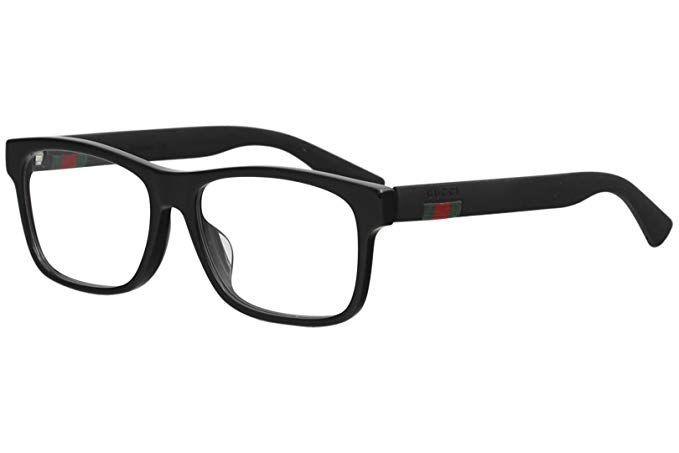 34db5ab0cf Gucci GG0176OA Plastic Rectangular Eyeglasses Size 56 mm Review ...