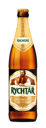 Rychtář Premium - This top-quality Czech lager has a pleasant distinctive bitterness and full taste, full flavour and an excellent head.