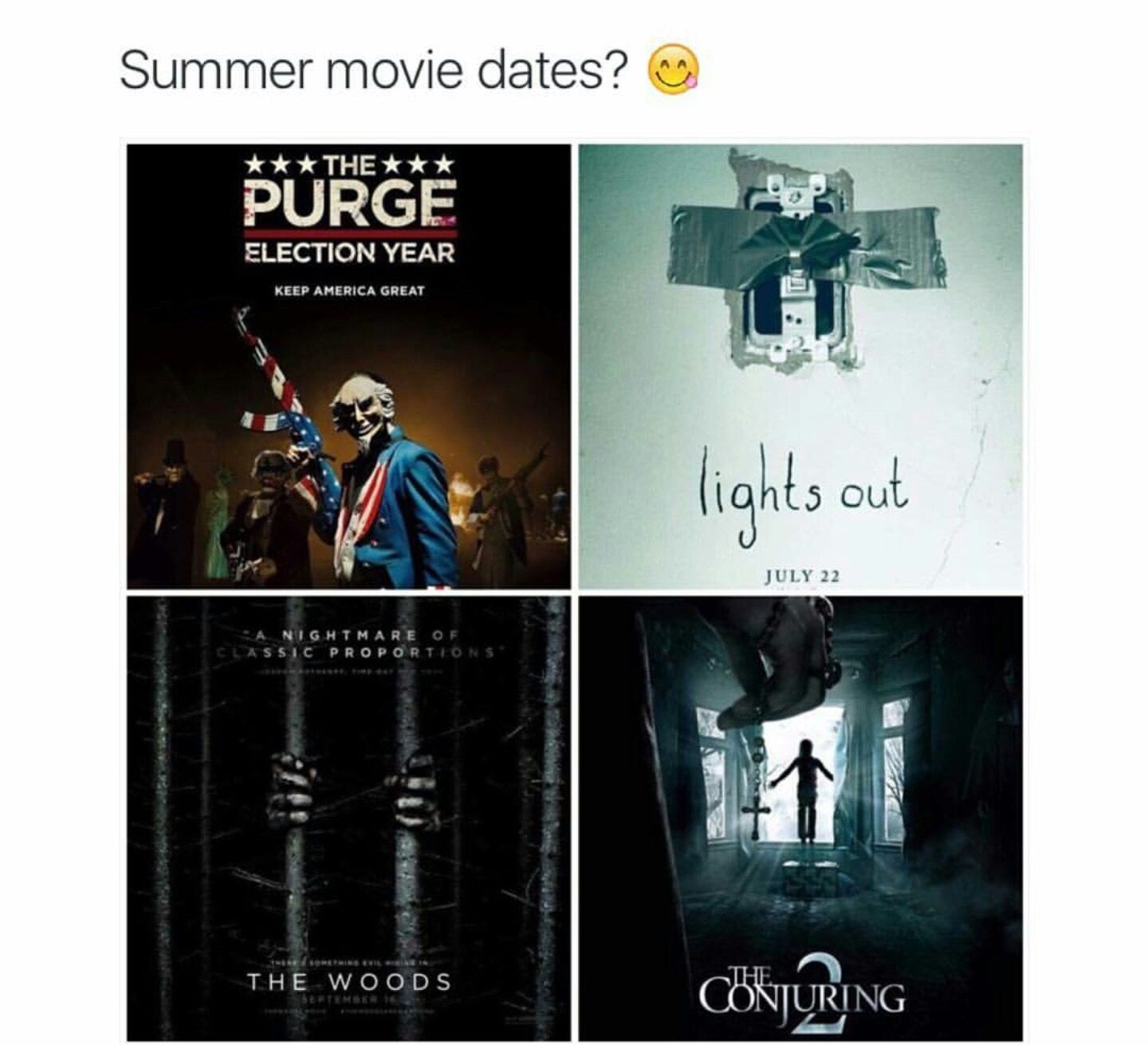 Good Scary Movies To Watch On A Date