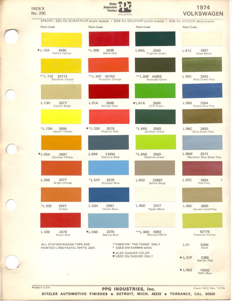 We transport any type of car anywhere in north america - Colour charts for interior painting ...