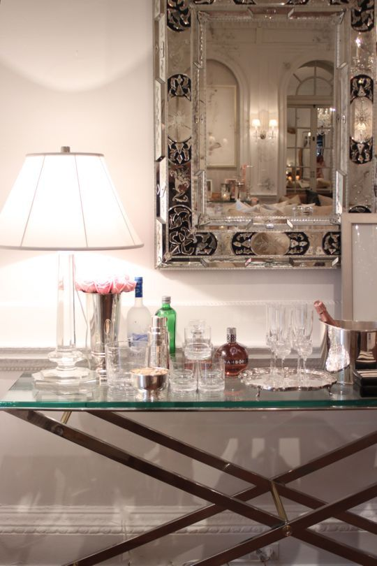 Add Glamour With Small Vintage Bathroom Ideas: Maisonette: Jolie Goodnight's Blog: {5 Ways To Add Old