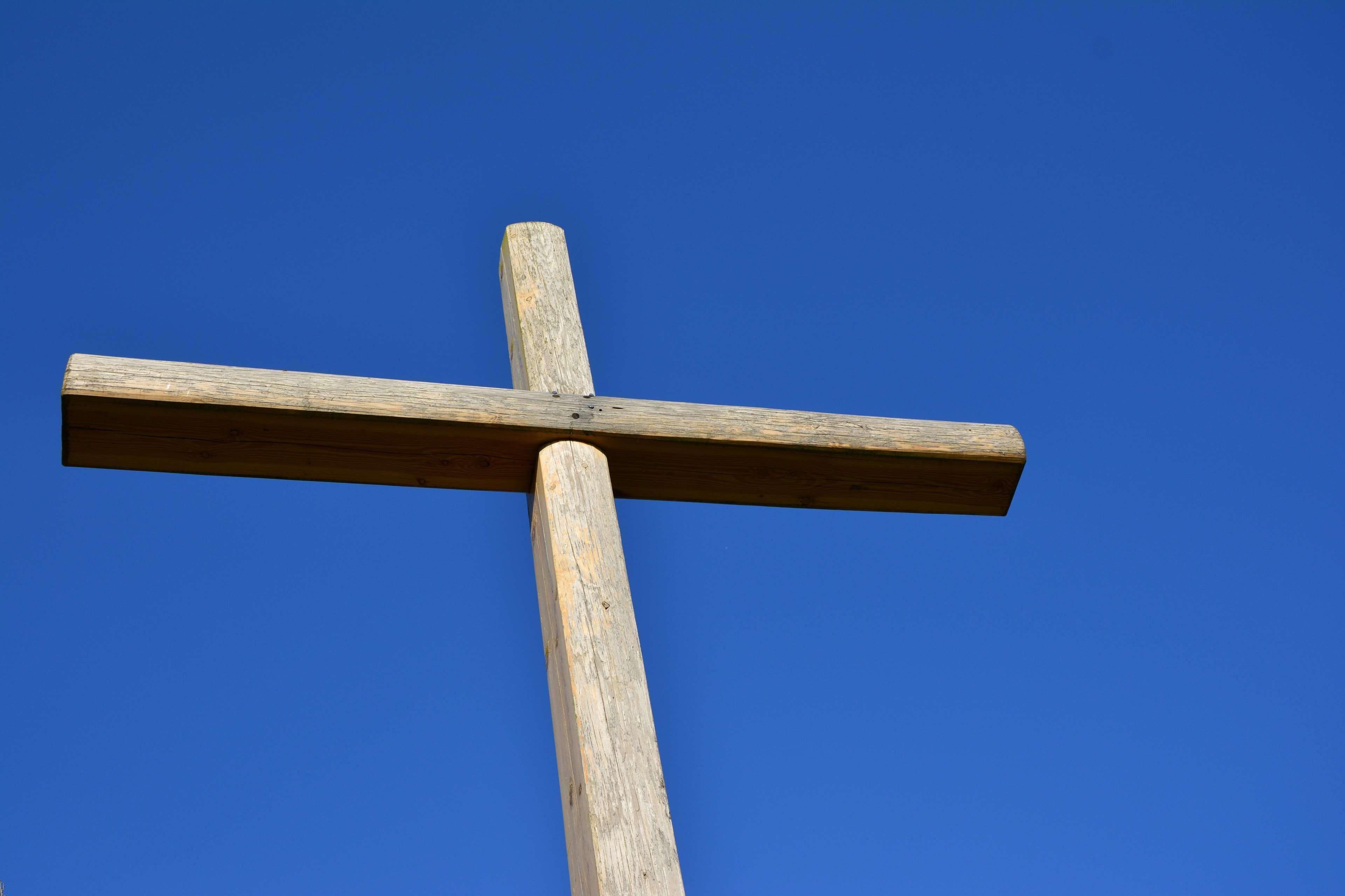blue sky christian christianity cross faith jesus jesus christ