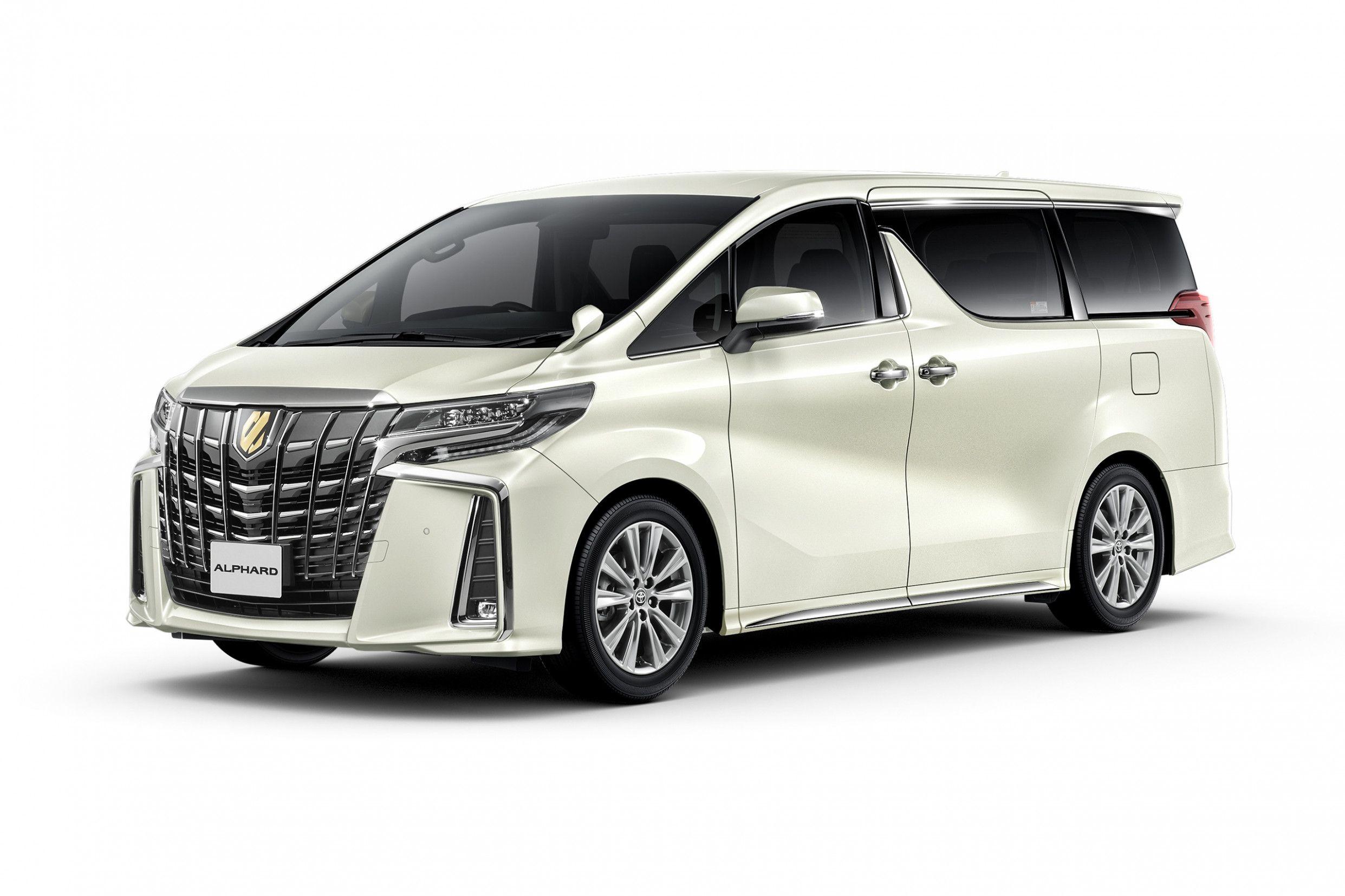 Konzept Und Konfiguration 2020 Toyota Alphard Barang Koleksi Mobil
