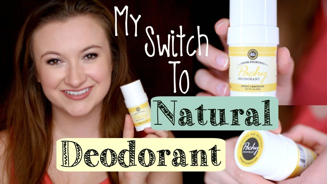 WHAT'S IN YOUR DEODORANT?! My Switch to Natural Deodorant