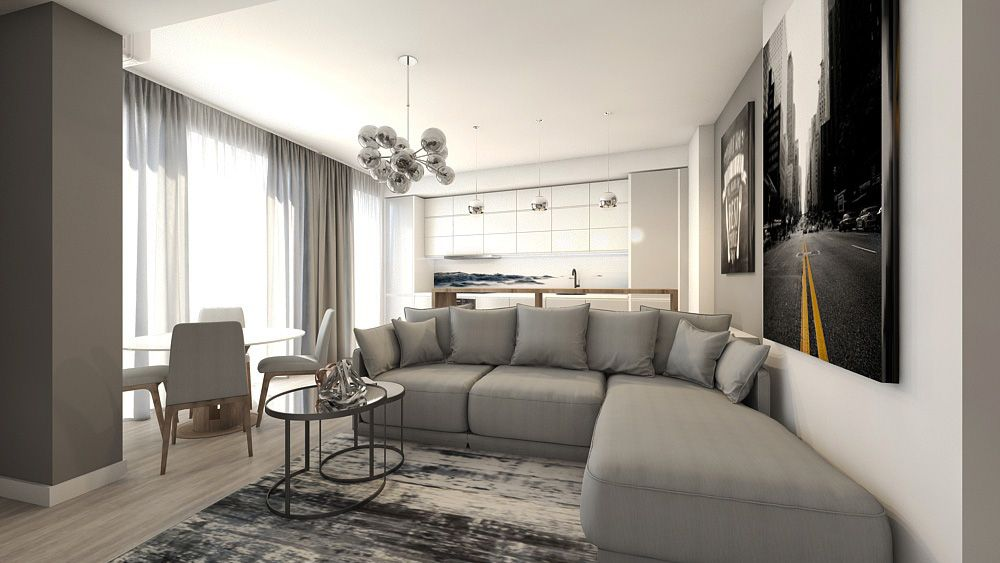 Cozy living room for an apartment #mialmi #Living_room ...