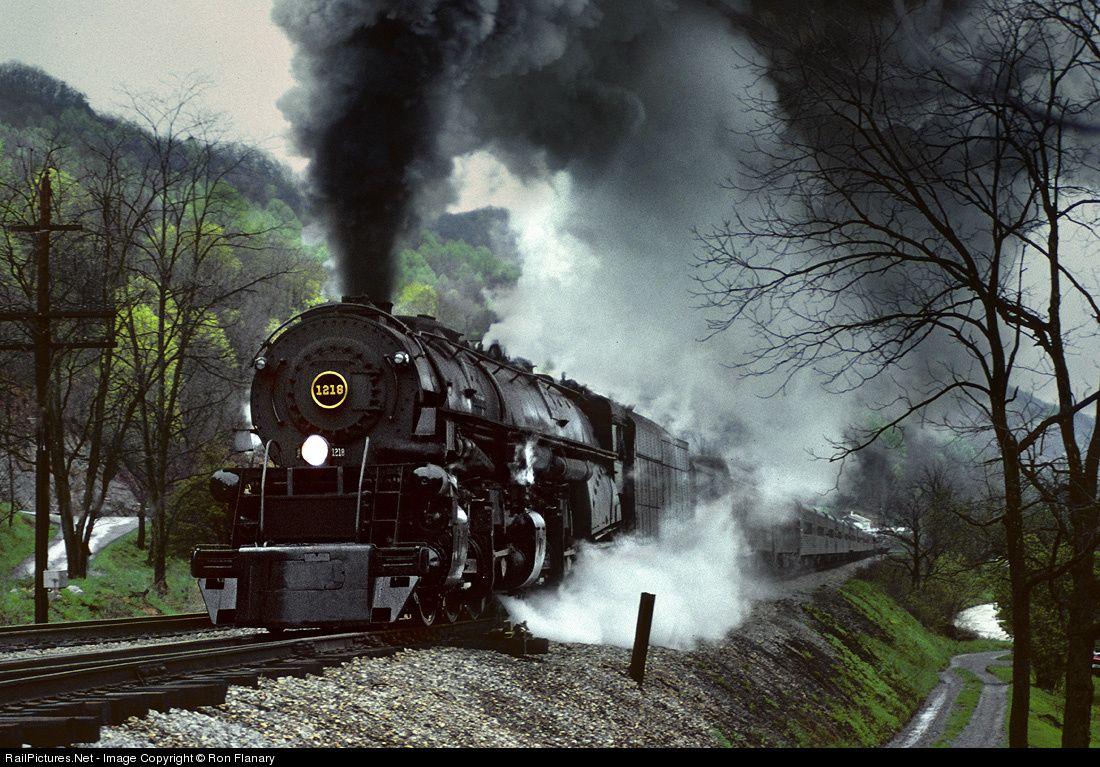 RailPictures.Net Photo: NW 1218 Norfolk & Western Steam 2-6-6-4 at ...