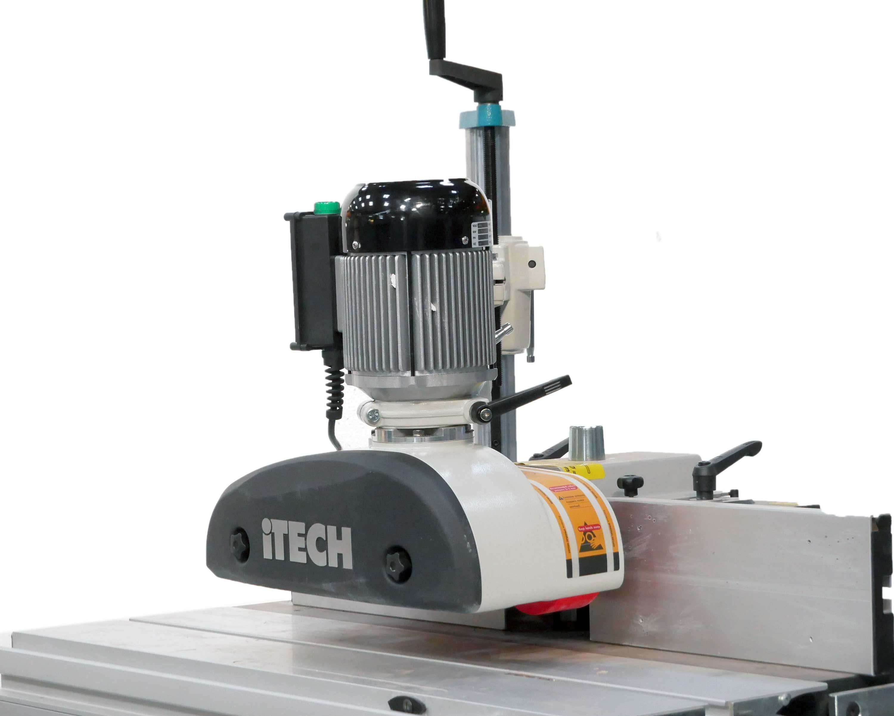 iTECH VP380 3 Roller 8 Speed Power Feed with Stand