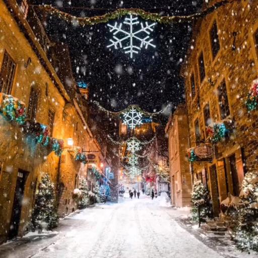 Verschneite Weihnachtsbilder.20 Magical Snowy Animated Christmas Scenes To Start Getting You