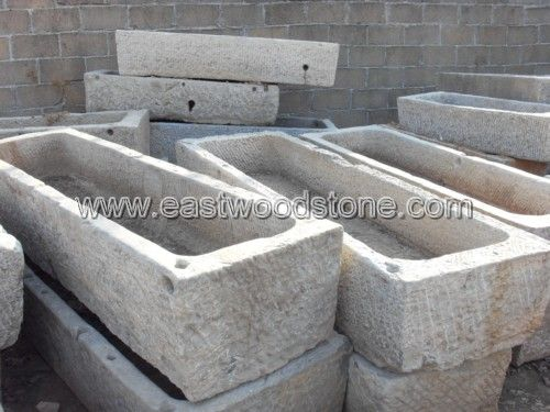 Stone Garden Trough   New (?) From China